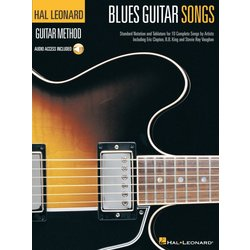 Blues Guitar Songs - w/Online Audio