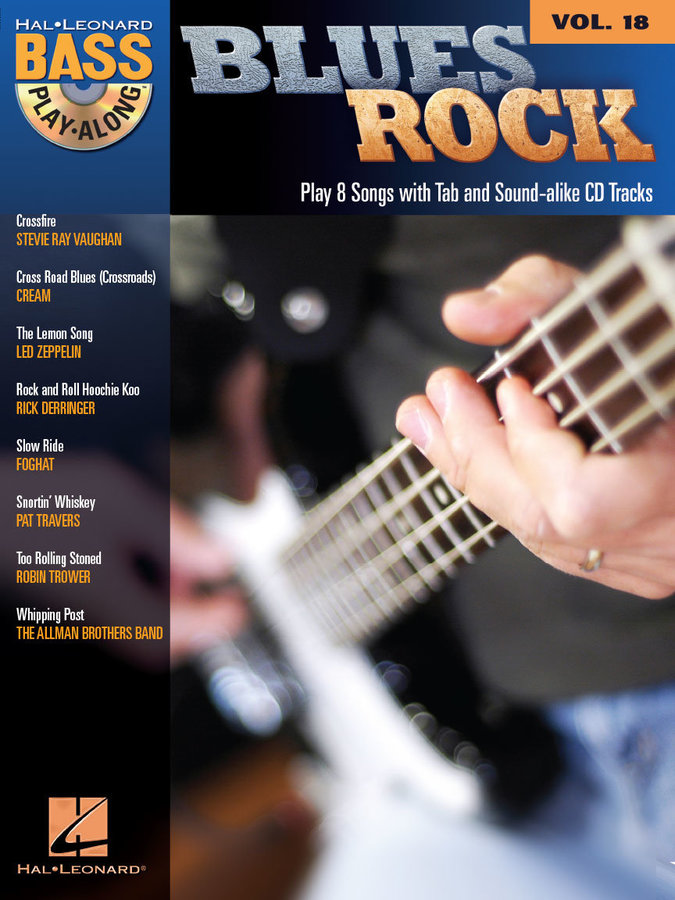 View larger image of Blues Rock - Bass Play-Along Volume 18 w/CD