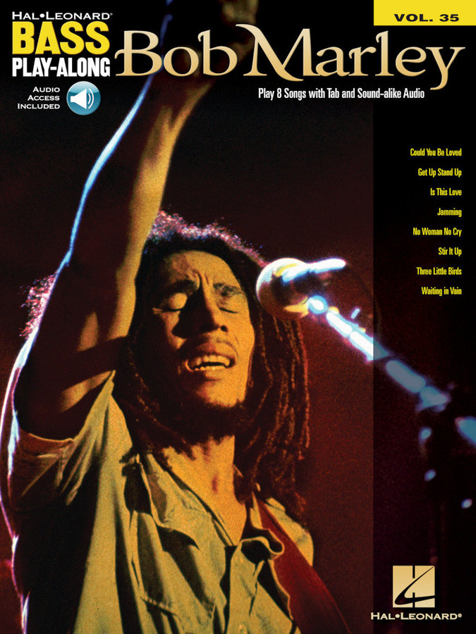 View larger image of Bob Marley - Bass Play-Along Volume 35 w/Online Audio