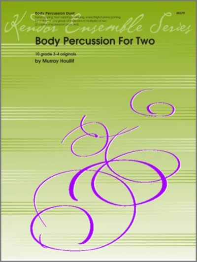 View larger image of Body Percussion For 2 (Body Percussion Duet)
