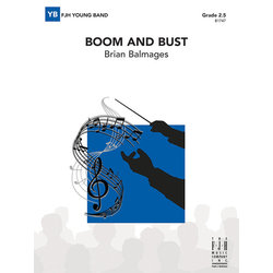 Boom And Bust - Score & Parts, Grade 2.5