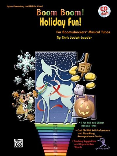 View larger image of Boom Boom Holiday Fun w/CD