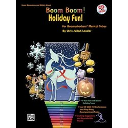 Boom Boom Holiday Fun w/CD