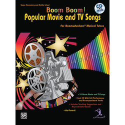 Boom Boom! Popular Movie and TV Songs - Bk/CD