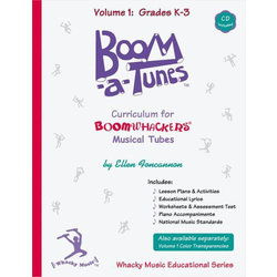 Boomwhackers - Boom-A-Tune Curriculum - Volume 1 : Grades K-3 w/CD
