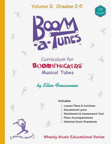 View larger image of Boomwhackers Boom-A-Tune Curriculum - Volume 2 :Grades K-6 w/CD