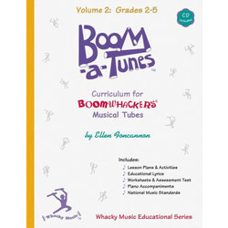 Boomwhackers Boom-A-Tune Curriculum - Volume 2 :Grades K-6 w/CD