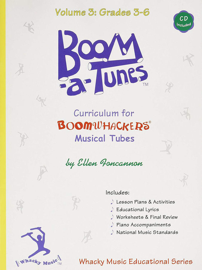 View larger image of Boomwhackers Boom-A-Tune Curriculum - Volume 3 :Grades 3-6 w/CD