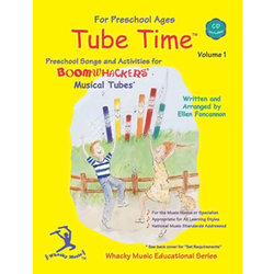 Boomwhackers Tube Time - Volume 1 w/CD