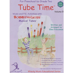 Boomwhackers Tube Time - Volume 3 w/CD