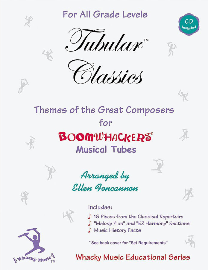 View larger image of Boomwhackers Tubular Classics w/CD