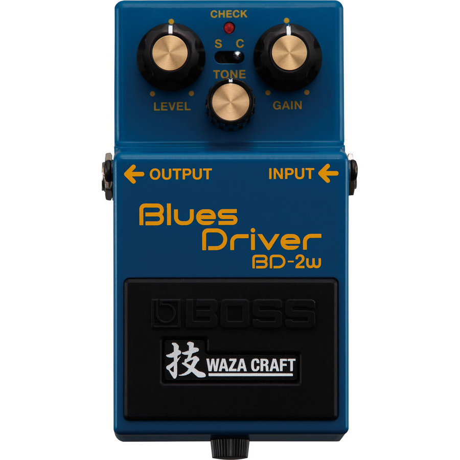 View larger image of BOSS BD-2W Waza Craft Blues Driver Pedal