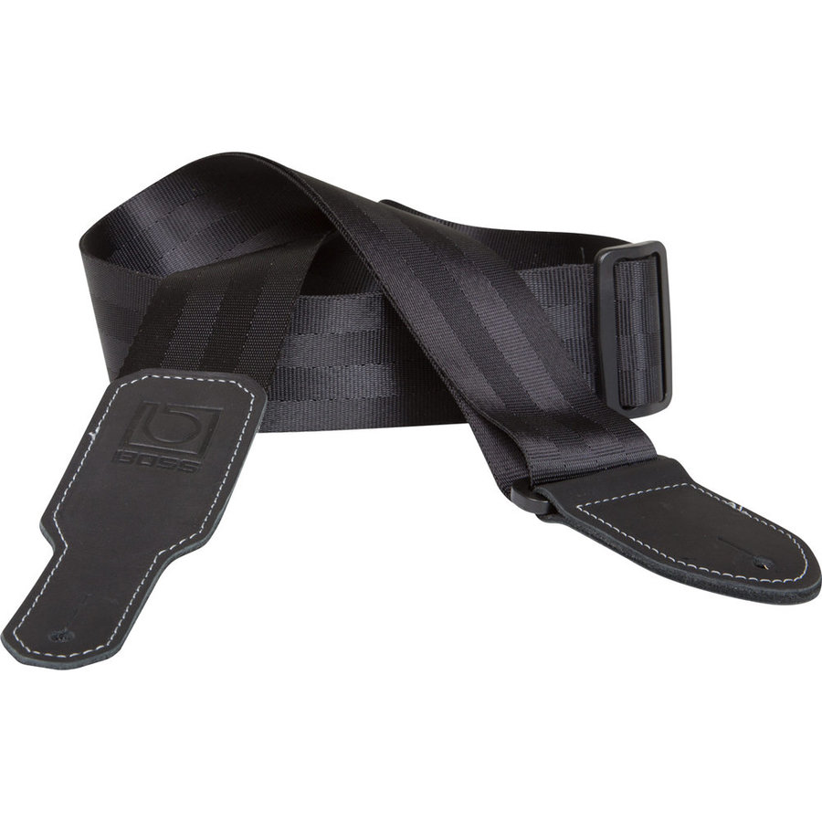 View larger image of BOSS BSB-20 Nylon Guitar Strap - 2, Black