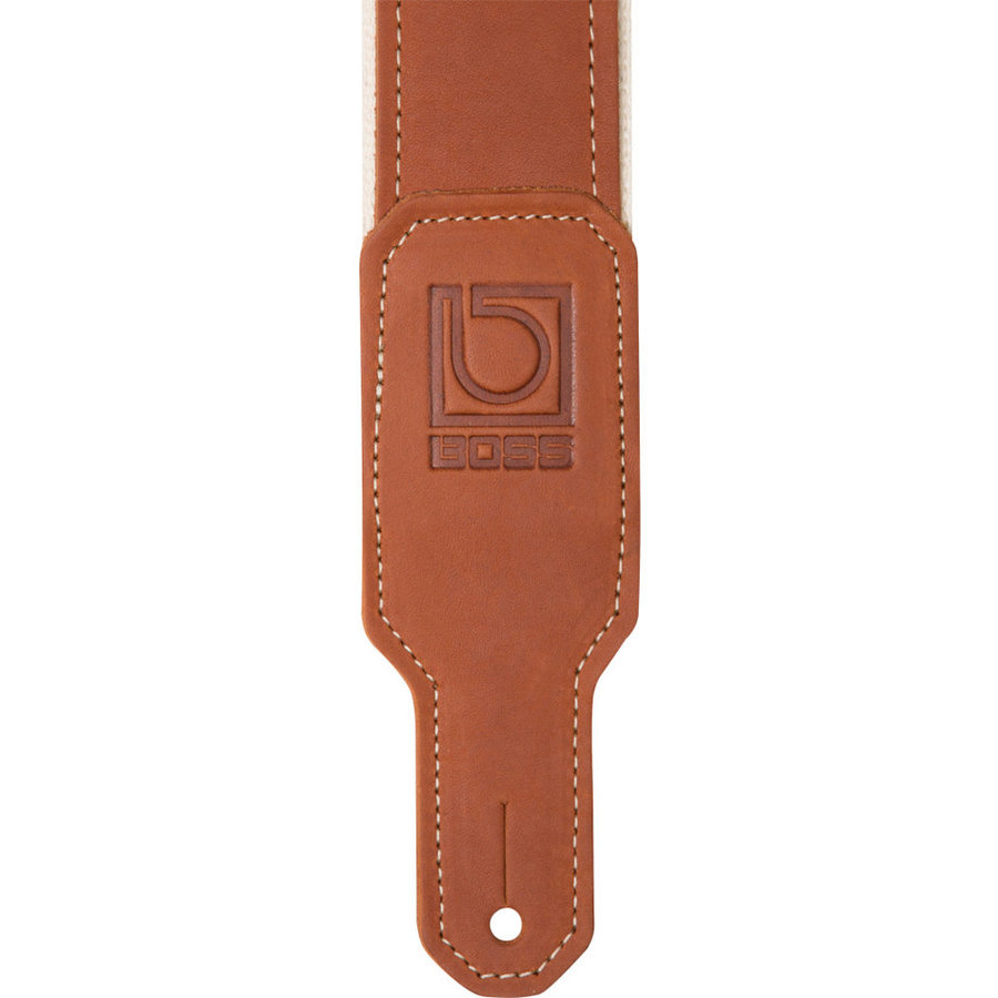 View larger image of BOSS BSH-20 Hybrid Guitar Strap - 2, Natural