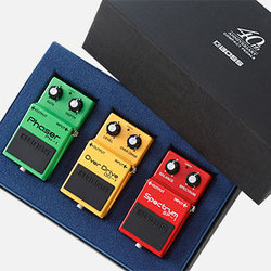 BOSS Compact Pedal 40th Anniversary Limited Box Set
