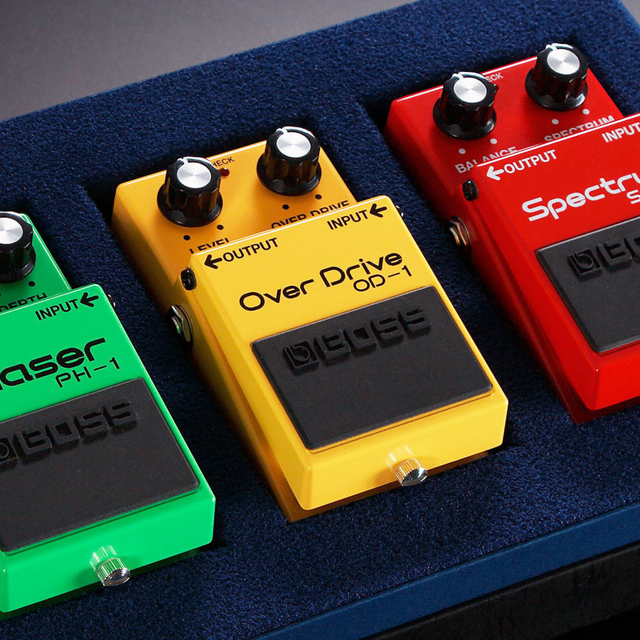 View larger image of BOSS Compact Pedal 40th Anniversary Limited Box Set