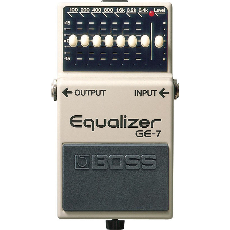 View larger image of BOSS GE-7 Graphic Equalizer Pedal
