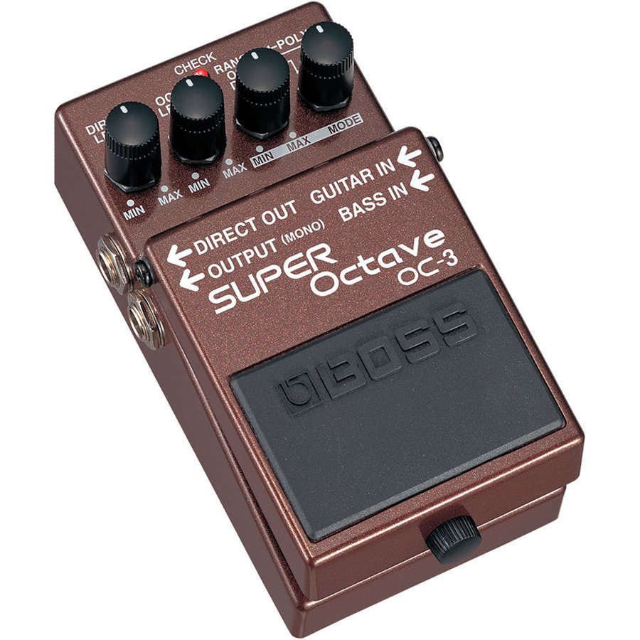 View larger image of BOSS OC-3 Super Octave Pedal