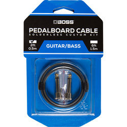 BOSS Solderless Pedalboard Cable Kit, 2 Connectors
