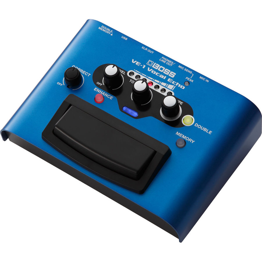 View larger image of BOSS VE-1 Vocal Echo Effects Pedal