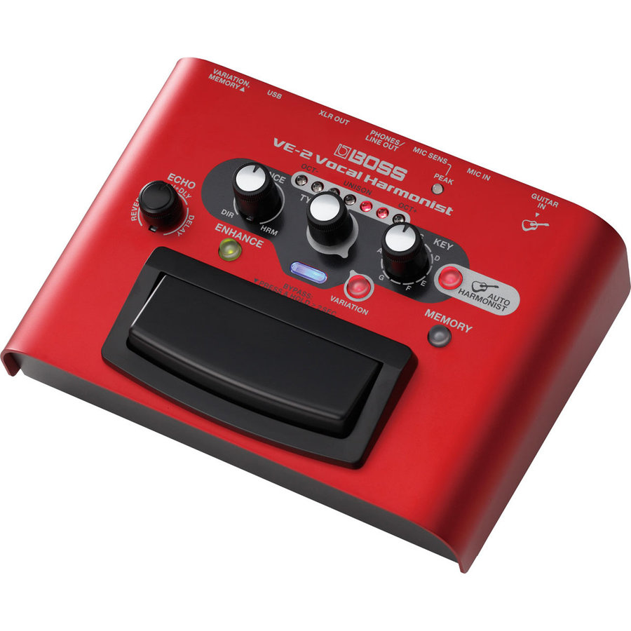 View larger image of BOSS VE-2 Vocal Harmonist Multi-Effects Pedal