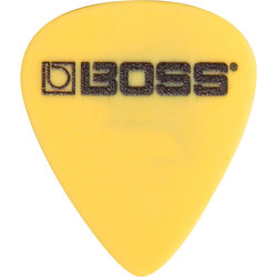 BOSS Yellow Derlin Guitar Picks, 12 Pack