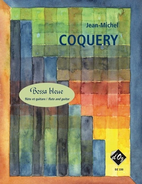 View larger image of Bossa Bleue (Coquery) - Guitar & Flute Duet