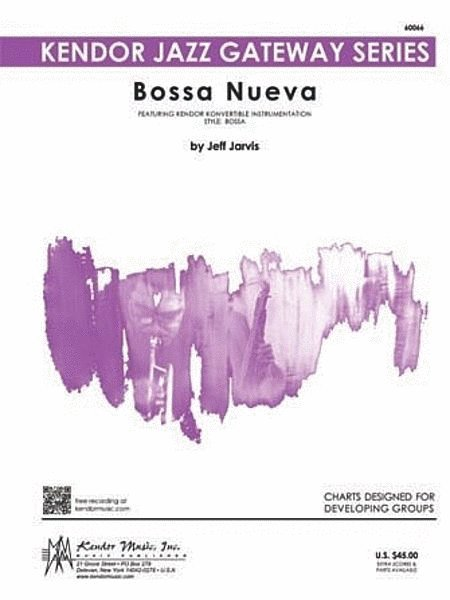 View larger image of Bossa Nueva - Score & Parts, Easy