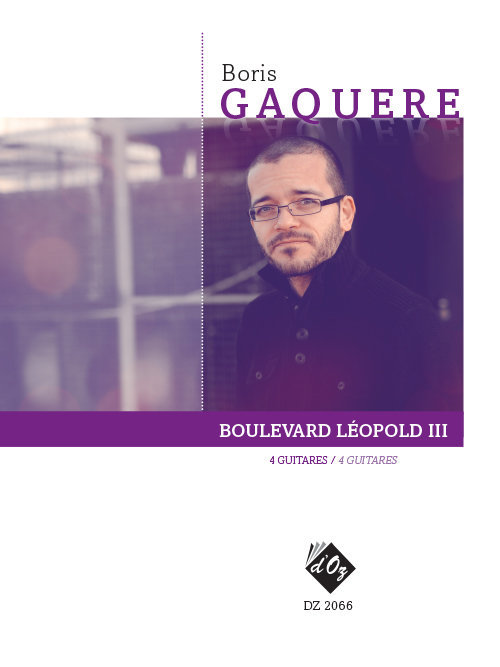 View larger image of Boulevard Leopold III (Gaquere) - Guitar Quartet