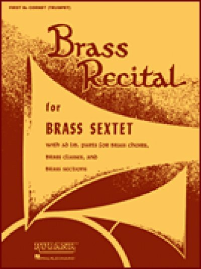 View larger image of Brass Recital for Brass Sextet/Choir - 3rd & 4th Bb Cornet