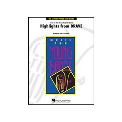 Brave - Highlights, Score & Parts, Grade 3
