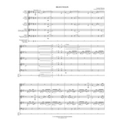Brave Wolfe - (Woodwind Flex Ensemble) - SCORE
