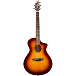 Breedlove Oregon Concerto CE Acoustic-Electric Guitar - Whiskey Burst