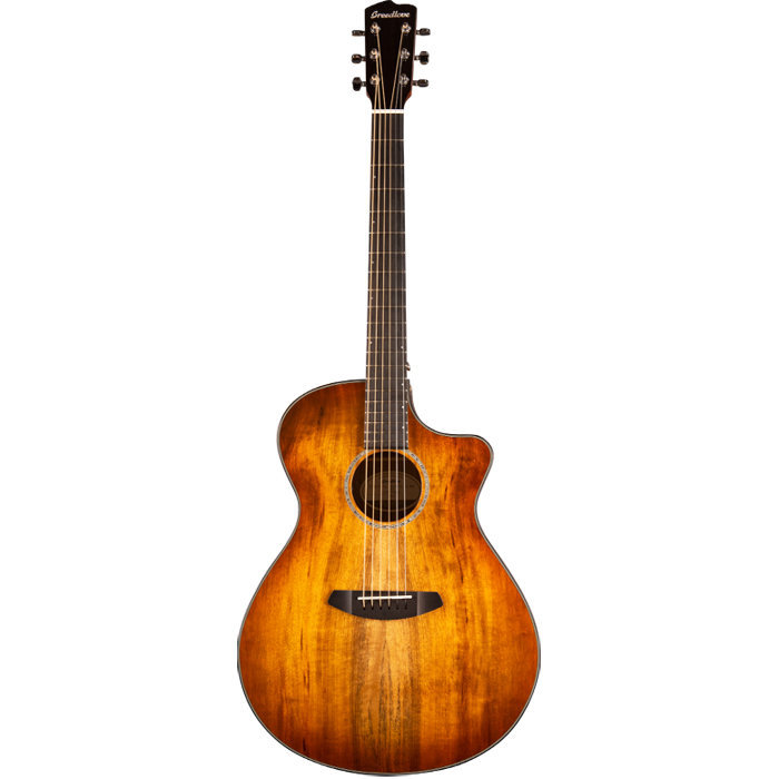 View larger image of Breedlove Pursuit Exotic Concerto CE Acoustic-Electric Guitar - Myrtlewood