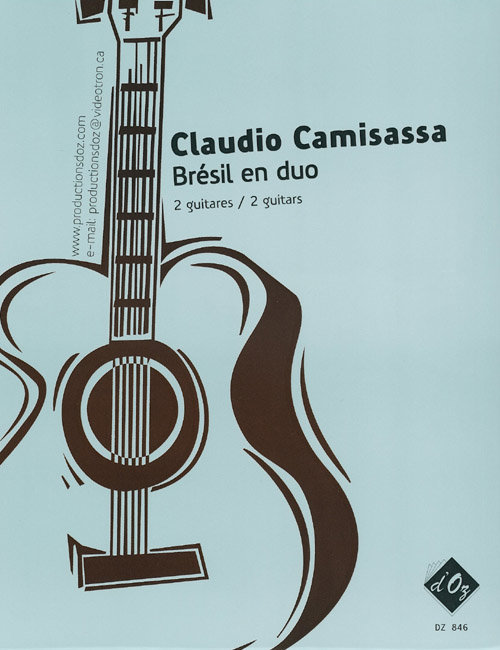 View larger image of Bresil En Duo (Camisassa) - Guitar Duet