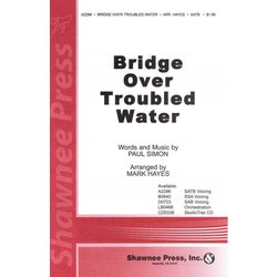 Bridge Over Troubled Water, SATB Parts
