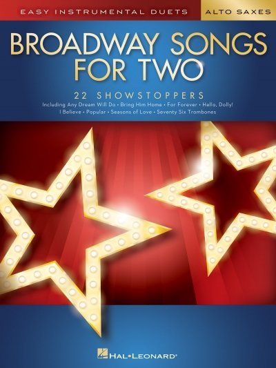 View larger image of Broadway Songs for Two - Alto Saxes
