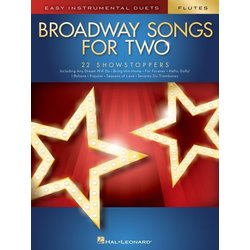 Broadway Songs for Two - Flutes