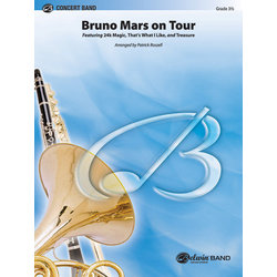 Bruno Mars On Tour - Score & Parts, Grade 3