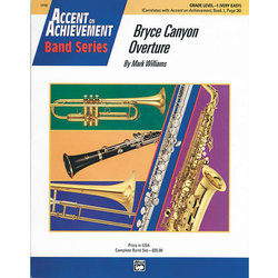 Bryce Canyon Overture - Score & Parts, Grade 1