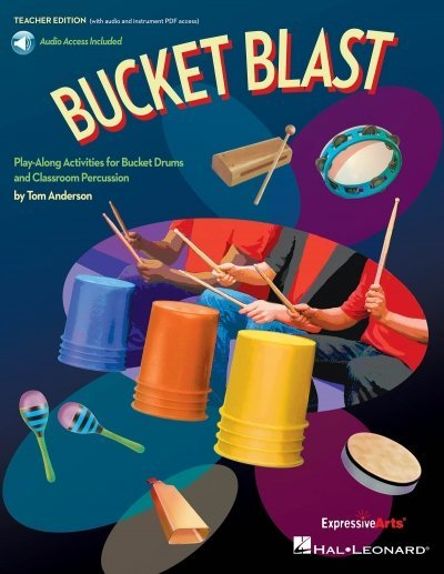 View larger image of Bucket Blast - Play-Along Activities for Bucket Drums w/Online Audio