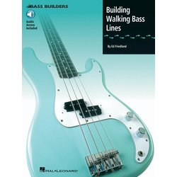 Building Walking Bass Lines w/CD