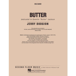 Butter - Score & Parts, Medium Easy