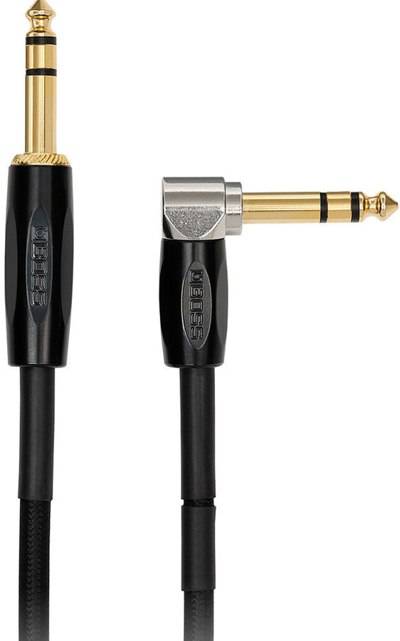 View larger image of BOSS BCC-3-TRA Interconnect Cable - 3-1/2 mm, Straight / Right Angle