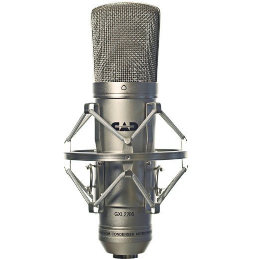 View larger image of CAD Audio GXL2200 Large Diaphragm Cardoid Condenser Microphone