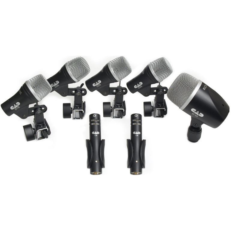 View larger image of CAD Audio Stage7 Drum Microphone Pack
