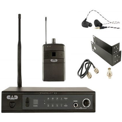 View larger image of CAD Audio UHF In Ear Monitor Wireless System