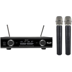 CAD Audio Wireless Dual Handheld Microphone System