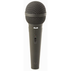 CAD CAD12 Cardioid Handheld Dynamic Microphone with On/Off Switch