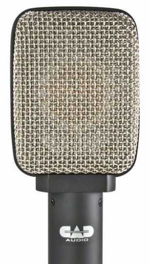 View larger image of CAD D82 Side Address Figure-of-Eight Ribbon Cabinet/Percussion Microphone